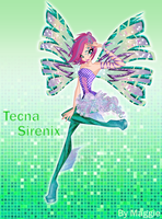 Tecna Season 5 Sirenix by magicalcolourofwinx