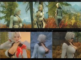 Christie for skyrim full body mod by michaelvr4