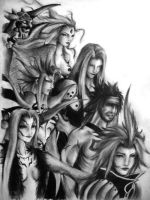 Dissidia Villians by firewyvern91