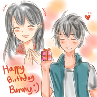 Happy Birthday! Bunny! by miyamiyah