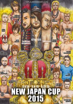 New Japan Cup 2015 by Tapla