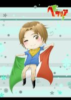[APH] Go go Italy! by GiEngland