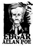 Edgar Allan Poe by brunoces