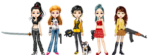 Dollz -n- Gunz by unusable