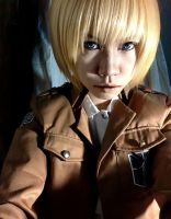 Armin cosplay test 2 by vani27