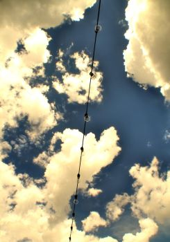 Light Bulbs in The Sky by reening
