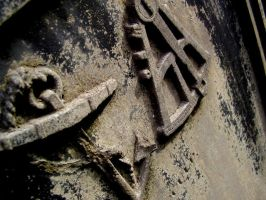 cemetary gravestone close up by cottoncandycookie