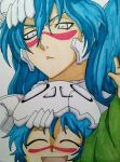Nel and Kid Nel by JessieTheArtist