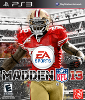 Madden NFL 13: Patrick Willis Cover by chronoxiong