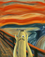 Nannerpus's The Scream by Linkette