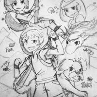 Anime - Adventure Time! by CryKunAnime