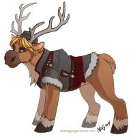 Disney Pony: Kristoff by MegSyv