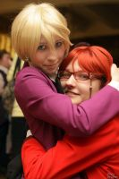 Grell Sutcliff Alois Trancy by JonneCat