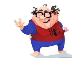 Spidey DeVito by WonderDookie
