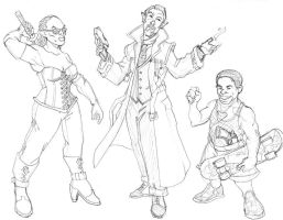 0807 Shadowrun sketches by Pachycrocuta