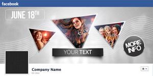 FREE Stylish Facebook Timeline PSD by mrwooo