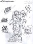 Robotech Cyclone Ride Armor VR-060-S Design by glane21