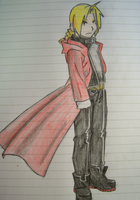 Edward Elric by aanglove