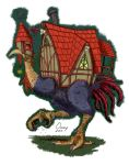 Baba Yaga's Chicken Hut by Omny87