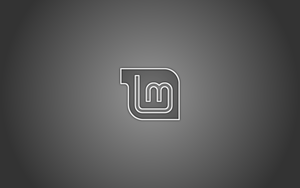 Linux Mint Greyscale by sonicboom1226