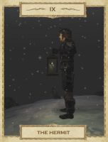 MW Tarot: 9. The Hermit by Alvirdimus