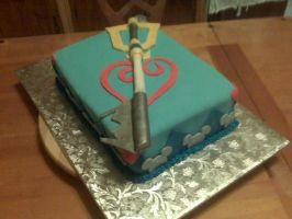 Kingdom Hearts Cake by AutumnDreaming