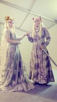 King and Queen of Mirkwood by seawaterwitch