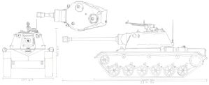 T-28 Medium Tank by PanzerschreckLeopard