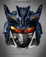 Soundwave Head Design by timshinn73