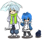 Clear and Aoba by sdark123
