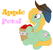 New OC: Apple Petal by SwoonStar