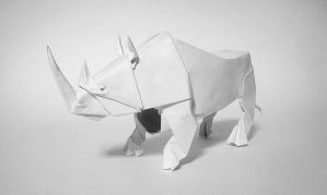 Rhinoceros by Aresorigami