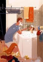 Look, you have a bubble right HERE! by PascalCampion