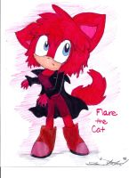 Request: Flare the Cat by Lilymint7