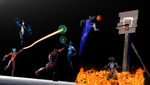 (Warframe) Gameframe Basketball by labet1001