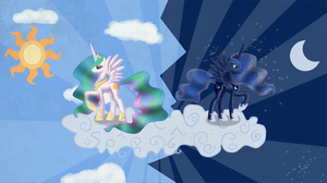 Two Regal Sisters by BlueFluffyDinosaur