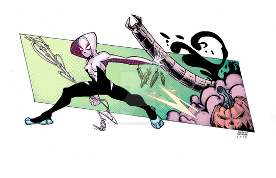 Spider-Gwen by EagleGosselin