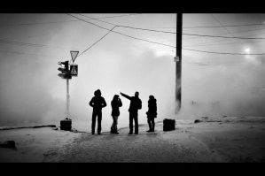 stuck on that side by Marhiao