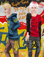 Endre and Austin by MoonlitRainbow