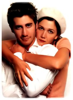 Jake and Maggie Gyllenhaal by 7MoonLight7