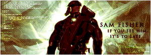 Sam Fisher - ...It's To Late by HopelessSoul13