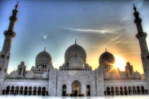 HDR - Sheikh Zayed Mosque by MAK-Photographi