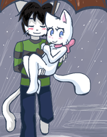LiamxLucy - Puddles. by taeshilh