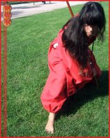 Human Inuyasha - still fight by MiayahMilles