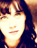 Zooey Deschanel by Aesthetic-Melody