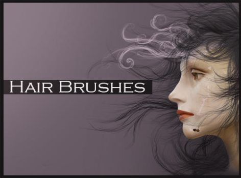 hair brushes by ALiceFaux