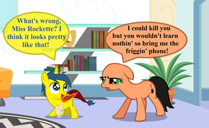 Why You Should NEVER Foalsit a Half-Draconequus!!! by TheRockinStallion