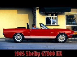 1968ShelbyGT500KRConvertible by puddlz