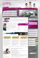 Modern Gaming Webdesign by razr-designs