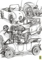 1920-1929 Cars by bloodsplach